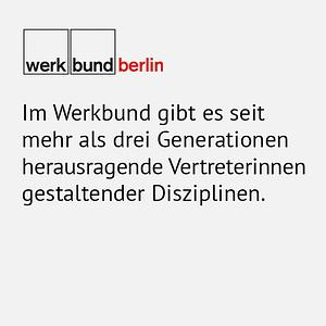 werkbund_Statement